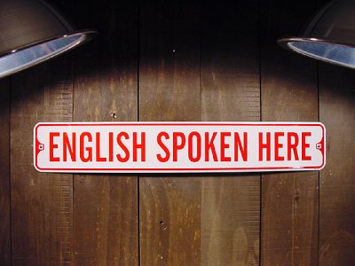 Vigyázat! Angolul beszélés veszélye áll fenn